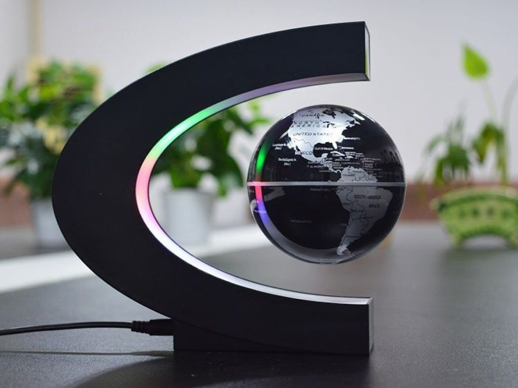 Floating Levitating Globe